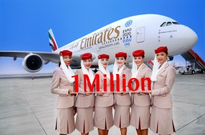 05 - Emirates becomes world's first airline with 1 million Instagram followers - 1