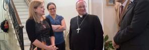 Archibishop visit DiK 1