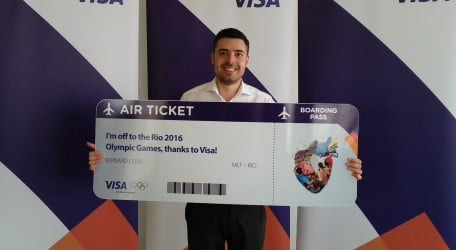 Bernard Cefai, the winner of the four day trip to the Rio 2016 Olympic Games