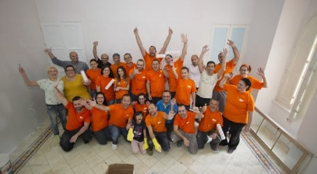 GO employees volunteer at Richmond Foundation's K.I.Ds- 2