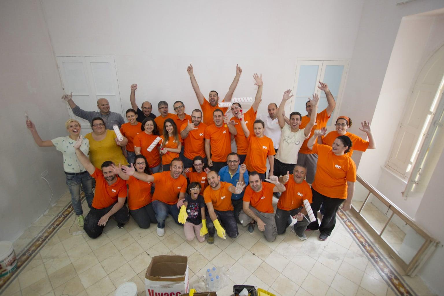 Josanne Cassar | GO employees volunteer at Richmond ...