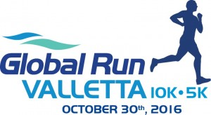 01 - Global Run Valletta 2016 - Logo