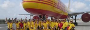 DHL plane pull 2014