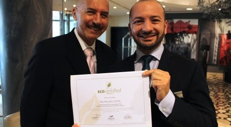 ECO certification for The Palace, Sliema