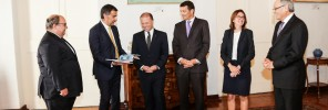 Malta Insurance Association pays a courtesy visit to the Prime Minister 3