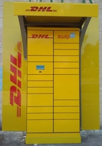 DHL Lock It Station
