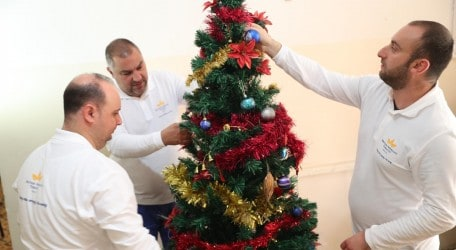 Decorating  Dar Leopoldo for Christmas - 1145