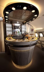 13 - Generous seating and understated luxury tourches A380 Onboard Lounge-1 (Copy)