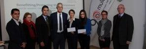 20170131 - Multigas announces winners of the environmental dissertation
