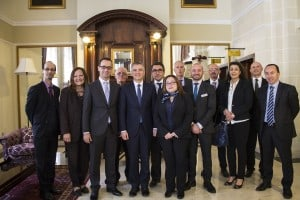 12. Dr Simon Busuttil visits the newly refurbished Victoria Hotel 2
