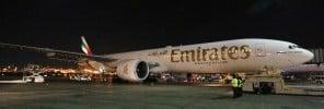 16 - EK inaugural flight EK209 from Dubai via Athens to Newark