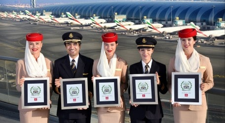 22 - Emirates named Best Airline in the World in TripAdvisor Travelers' Choice Awards