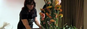 22. Italian floral designer shows her creativeness at the Seashells Resort at Suncrest 2