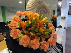 22. Italian floral designer shows her creativeness at the Seashells Resort at Suncrest