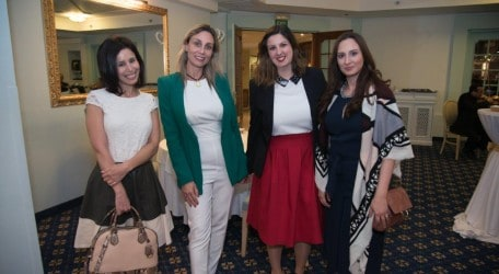 Blogger- Stylist Caroline Paris, Romu​alda Vella from Mangano Malta, Julia Grech AX Hotels Group Marketing Manager and Stephanie Xerri Aguis from Style in Transit -1