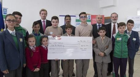 HSBC Malta Foundation renews its support for EkoSkola