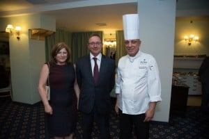 Mary Anne Pule, AX Holdings CEO Michael Warrington and Executive Chef George Mercieca