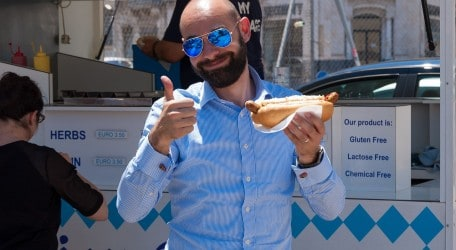 'Hot Dog Day' for GasanMamo Insurance employees 2