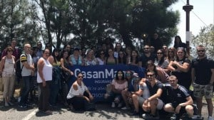 Eventful day in Sicily for GasanMamo employees