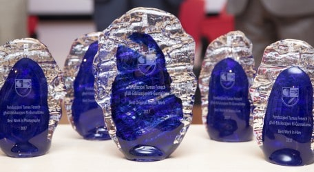 ICA Awards trophies