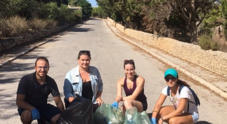 20170918 - Gnien L-Gharusa tal-Mosta Clean Up