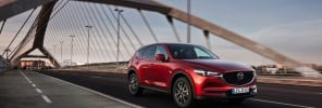 All-new 2017 Mazda CX-5 achieves maximum five-star rating in Euro NCAP safety tests