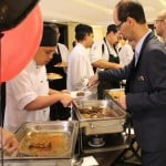 33. Management serves staff members to celebrate The Palace, Sliema 10th and The Victoria Hotel's 20th anniversary 2