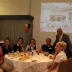33. Mr Xuereb, Chairman of AX Holdings with staff from the hotels