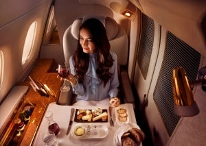 65 - Dining on Emirates - the world's largest flying restaurant - 5-1