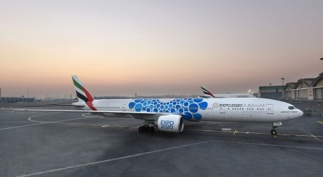 67 - Emirates unveils aircraft with new Expo 2020 Dubai livery - 2