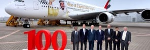 68 - Emirates welcomes 100th A380 to its fleet - 1
