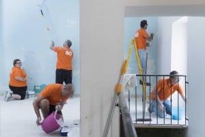 GO employees volunteer at YMCA - 1