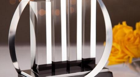 01032018 - 2018 Malta EY Entrepreneur of the Year trophy