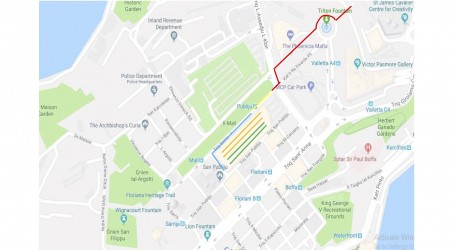 Marching Route 2018