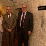 Business Banking Relationship Manager Marlene Galea, Area Commercial Manager Roland Saliba, Business Banking Relationship Manager Stefan Bonello, all from HSBC
