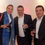 HSBC Business Banking Relationship Manager Lorraine Cassar, Patrick Agius and Oliver Brownrigg of BT Commercial Ltd